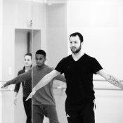 Ivan et les danseurs en résidence
